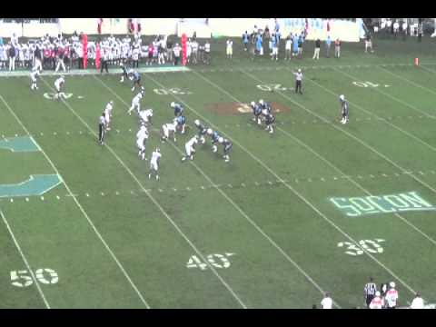 Cass Couey, P, The Citadel highlights
