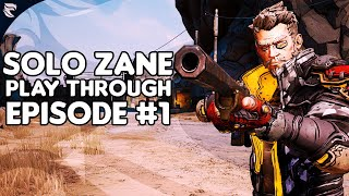 Borderlands 3 - Solo Zane Play through Episode #1