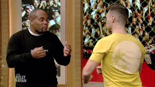 UFC Champ Daniel Cormier Gives Ryan a Fighting Lesson