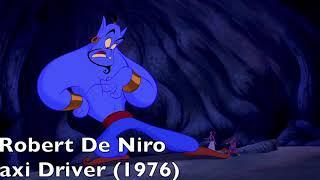 Robin Williams Impressions as Genie