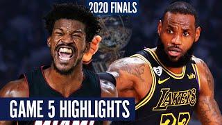 LAKERS vs HEAT GAME 5 - Full Highlights | 2020 NBA Finals