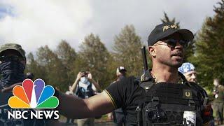 Proud Boys Leader Turned FBI Informant Following 2013 Arrest   NBC News NOW