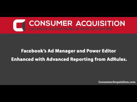ConsumerAcquisition.com Offers Free Reporting to Facebook Advertisers