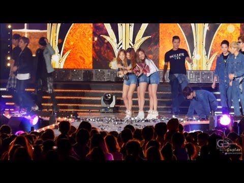 141003 [직캠/FANCAM] 소녀시대 태티서 (SNSD TTS, TaeTiSeo ) 뮤직뱅크 할라(Holler) 1위 엥콜 (Encore stage)