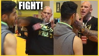 GETTING INTO A FIGHT WITH MARTYN FORD!! (BodyPower UK 2016)