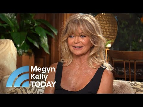 Goldie Hawn On Meditation, Mindfulness And 'Sexy' Kurt Russell | Megyn Kelly TODAY