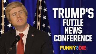 Trump's Futile News Conference
