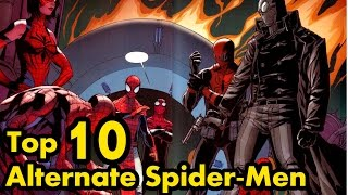 Top 10 Alternate Spider-Men – A Comic Island List