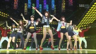 SBS popular song T-ara [Roly Poly in Copacabana] (633 times)