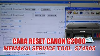 Canon Service Tool v5103 Original (Reset G, TS and other