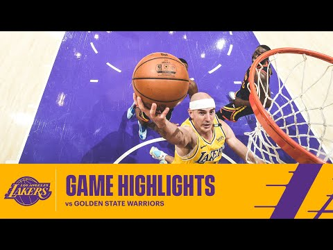HIGHLIGHTS   Alex Caruso (14 pts, 3 reb, 2 ast) vs Golden State Warriors