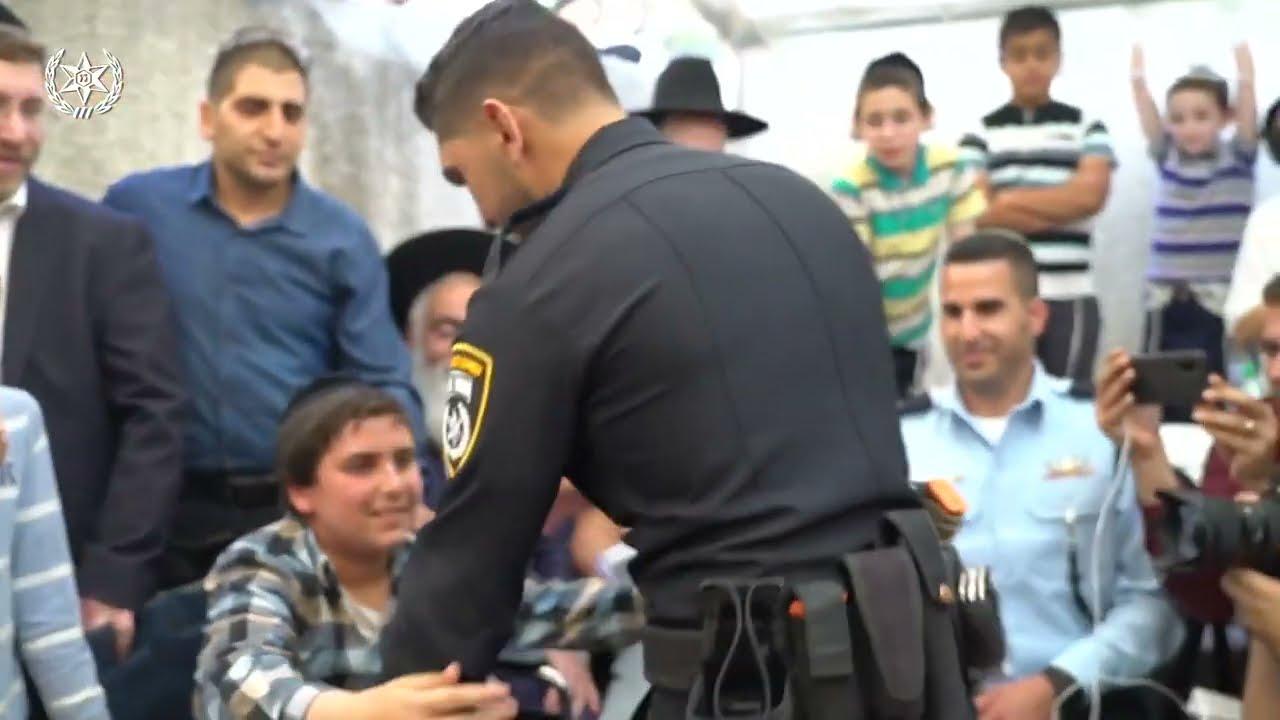 Sergeant Rami Alwan Meets Boy He Rescued in Meron | המפגש המרגש בין רס