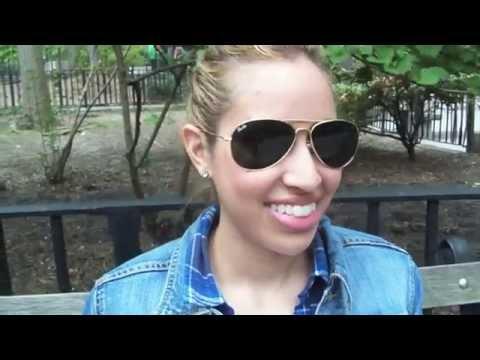 Haily and Sara - Try on Pau Rio WayFarer Sunglasses