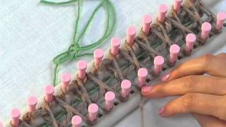 Loom Knitting: How to Knit for Double Knitting