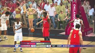 (NCAA Basketball 20) NCAA Tournament 1st Round (Davidson Wildcats vs Colorado Buffaloes) PS3