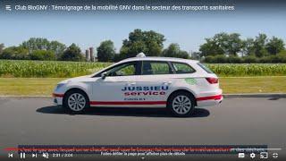 Véhicules sanitaires GNV : le témoignage de Jussieu Secours