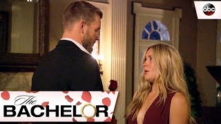 Colton Gives Cassie A Rose - The Bachelor
