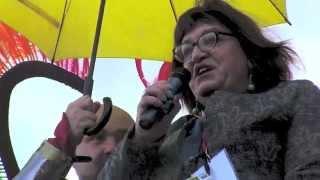 Anna Grodzka na Paradzie Równości 2014