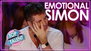 Emotional Auditions That Made Simon Cowell Cry | Top Talent