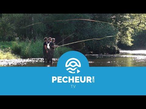 Initiation de pêche à la mouche pour l'équipe de Pecheur.com