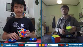 Leo Borromeo vs Feliks Zemdegs