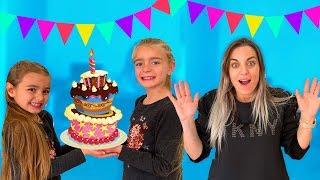 Fiesta de cumpleaños con las ratitas a Mireia Reacción