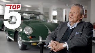Porsche Top 5: Dr. Wolfgang Porsche's most favourite cars