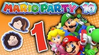 Mario Party 10: Stinkin' Thinkin' - PART 1 - Game Grumps VS