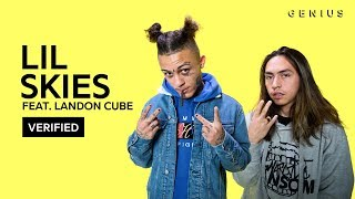 """Lil Skies """"Red Roses"""" Feat. Landon Cube Official Lyrics & Meaning 