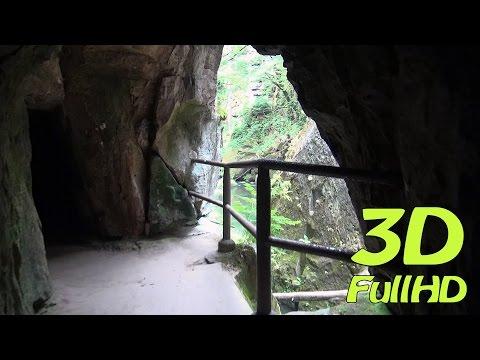 [3D] Edmund's Gorge / Edmundova soutěska / Edmundsklamm / Wąwóz Edmunda, Czech Republic