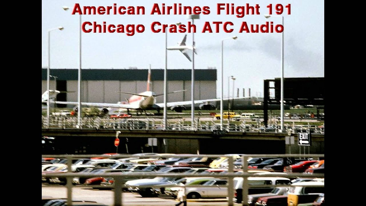 American Airlines Aa Dc 10 Flight 191 Chicago Ohare