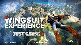 Just Cause 3 - 360°-os Trailer - Szárnyasruha repülés