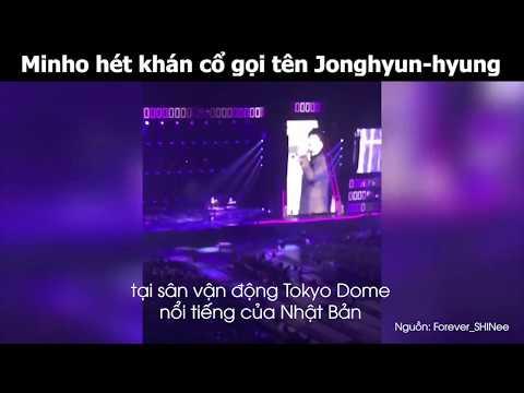 Fan bật khóc khi Minho SHINee hét gọi tên Jonghyun tại concert Nhật