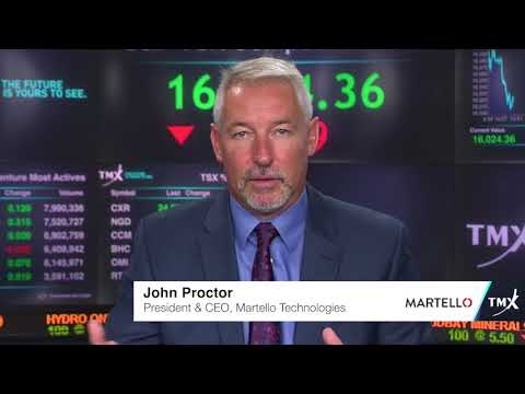 Video: View from the C-Suite: John Proctor, President and CEO, Martello Technologies Group Inc. tells his company's story.