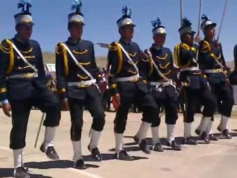 Desfile de escolta CNI 3 2014 (Capacho Corazón)  Parte 1