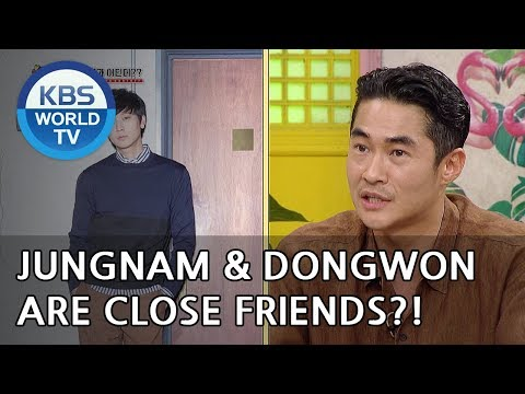 Bae Jungnam and Gang Dongwon are close friends?! [Happy Together/2018.06.14]