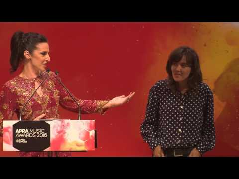 Courtney Barnett - 2016 #APRAs Songwriter of the Year - Presented by Adalita