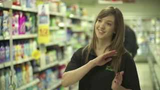 Customer service training video for Touts Budgen