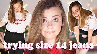 TESTING SIZE 14 JEANS ACROSS TEN BRANDS - THIS MAKES NO SENSE | LUCY WOOD