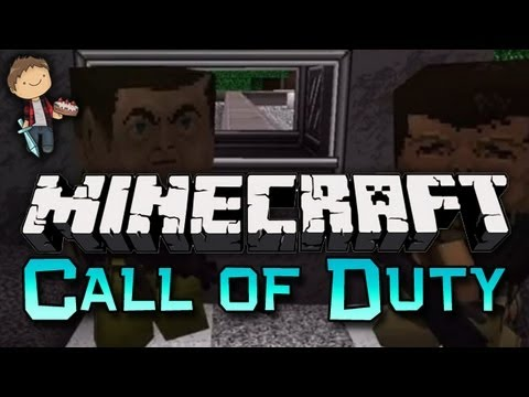 Minecraft: Call Of Duty GUN Mini-Game W/Mitch & Preston! - Smashpipe Games