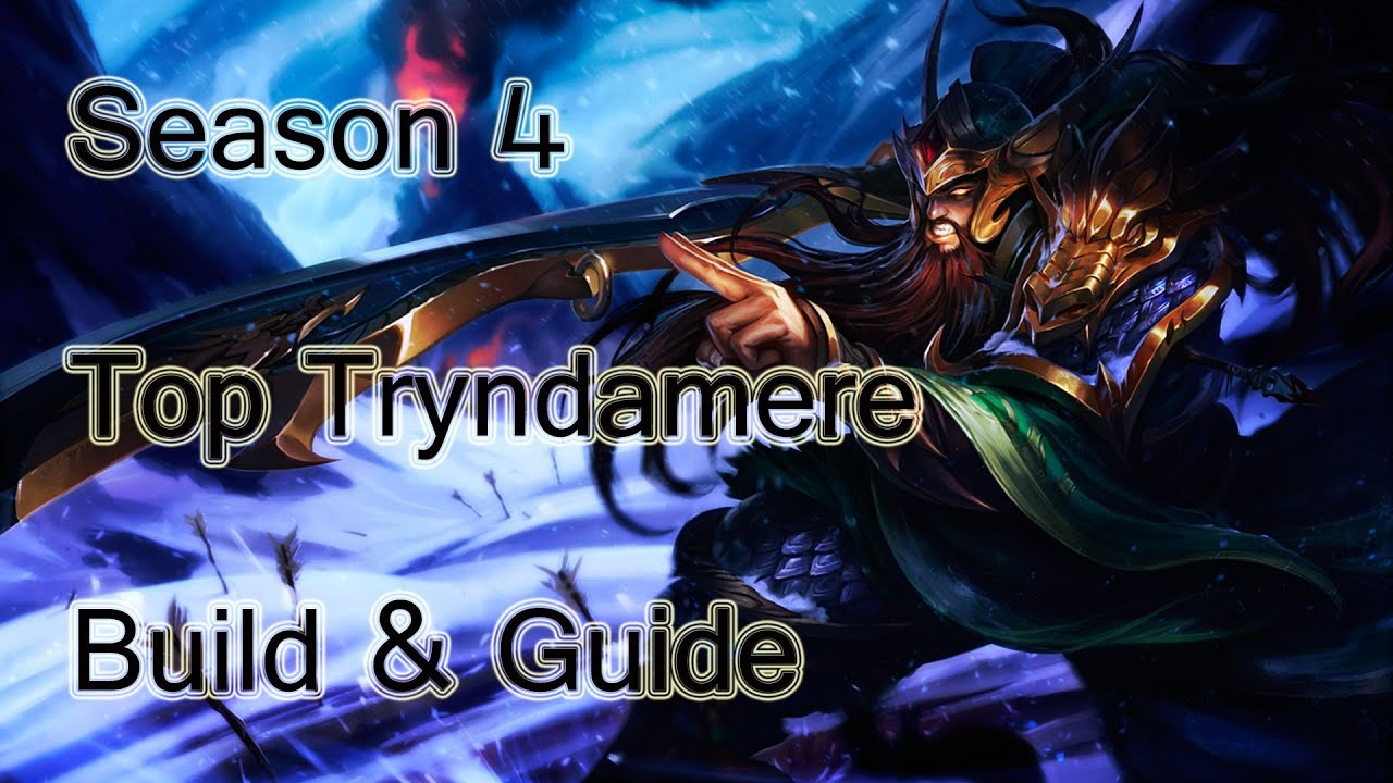 dyrus top tryndamere build
