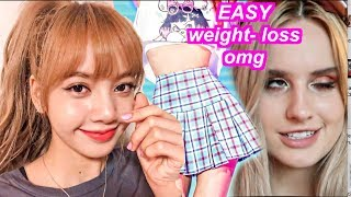 Eating like KPOP,  BLACKPINK LISA  in KOREA (i lost weight really easily)#블랙핑크