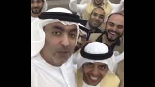 سيلفي مميز من الشيخ احمد بن صقر مع فريق النيابة التطوعي ... -