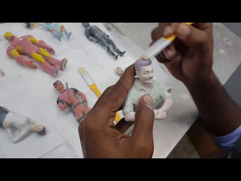 Making of 3D Miniatures by IKix My3D Selfie!!!!