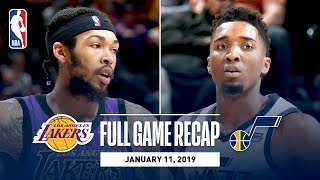 Full Game Recap: Lakers vs Jazz | Donovan Mitchell Drops 33 Against Los Angeles