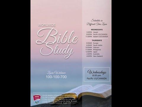 [2020.04.01] Worldwide Bible Study - Bro. Lowell Menorca II