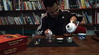 Pha trà Phổ Nhĩ Tây Côn Lĩnh 10 năm tuổi - Xuân Hiến