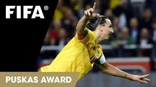 Zlatan Ibrahimović Bicycle Kick Goal | FIFA Puskas Award 2013 WINNER