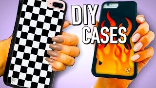 Weird DIYs - DIY iPhone cases and Popsockets for your phone!