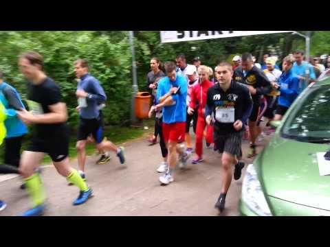 Start   Hradubický běh 2014   Brain racing